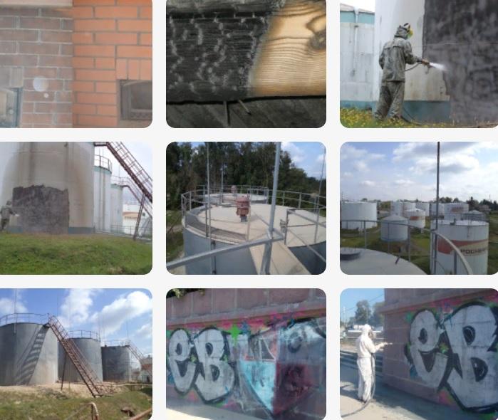 Очистка стен от граффити в Солнечногорске