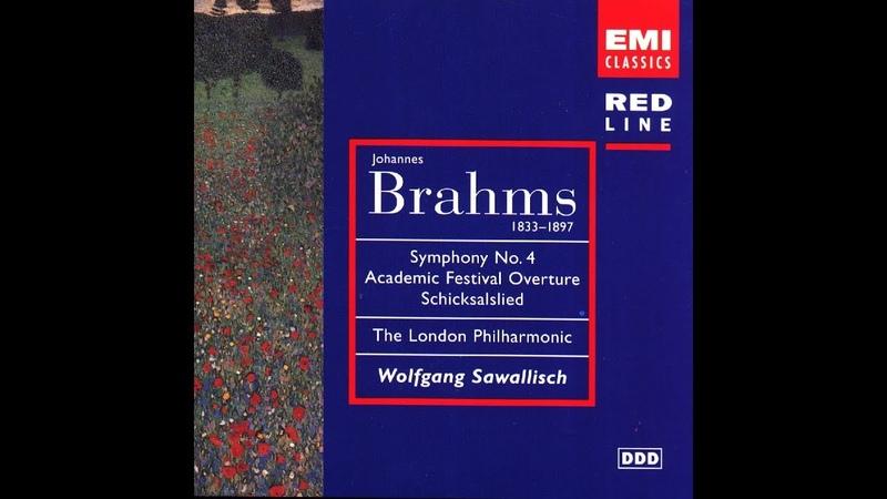 Johannes Brahms Schicksalslied Ambrosian Singers Wolfgang Sawallisch