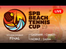 WOMENS DOUBLES FINAL GASPARRI CIMATTI vs NOBILE DAINA SPB BEACH TENNIS CUP 2019