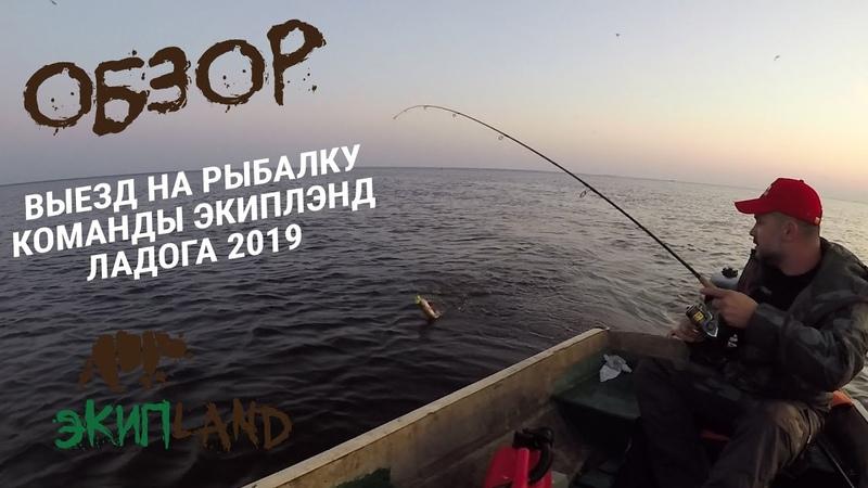 Летний выезд на рыбалку команды Экиплэнд Ладога 2019