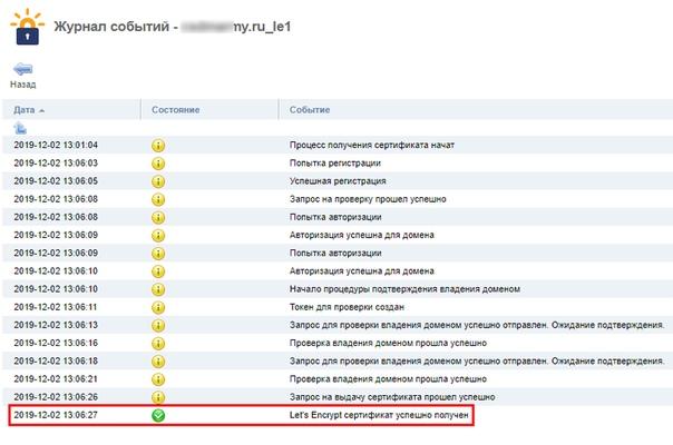 Бесплатный SSL на сайт, изображение №4
