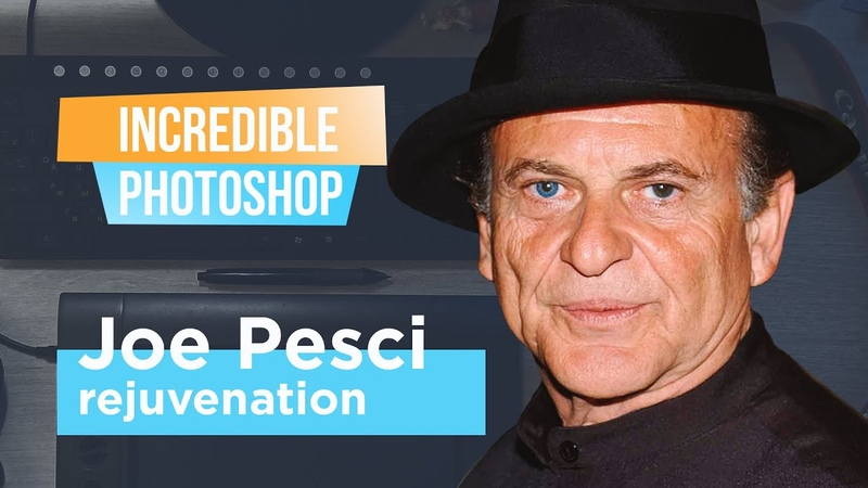 Adobe Photoshop Joe Pesci Невероятный фотошоп