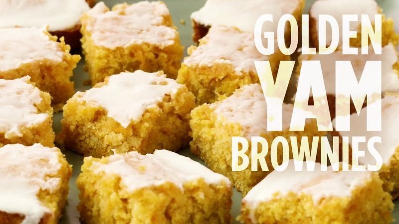 How to Make Golden Yam Brownies   Dessert Recipes   Allrecipes.com