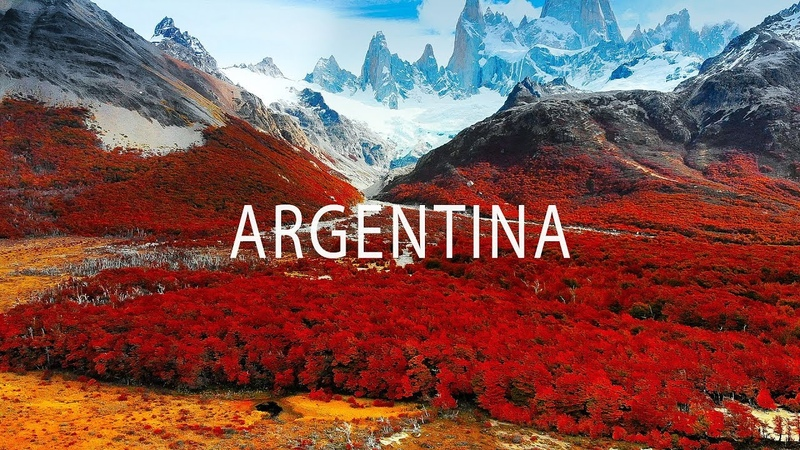 Colors of Argentina 4K Drone Travel Video