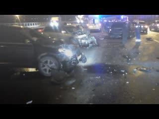 Авария на Киевском шоссе выросла в 6 раз за несколько минут