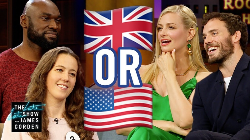 UK or USA w Beth Behrs and Sam Claflin