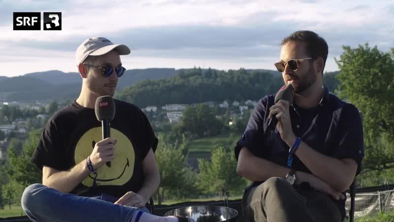 Bastille Interview Heitere Open Air for Radio SRF 3 2019