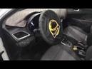 Hyundai Solaris не отличался низким уровнем шума внутри пришлось улучшить установить доп шумку