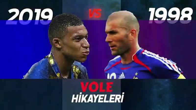 046.1998 Fransa vs 2019 Fransa - A Milli Takımımızın Rakibinin tarihi başarıları - VOLE Hikayeli