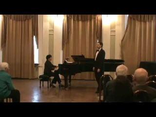 """М.И.Глинка - """"Бедный певец"""". Тенор Ярослав Петраченко, фортепиано Марина Абросимова."""