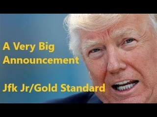 Trump's Got A Very Big Announcement! JFK Jr/Gold Tie/ Nobody Knows/2weeks?