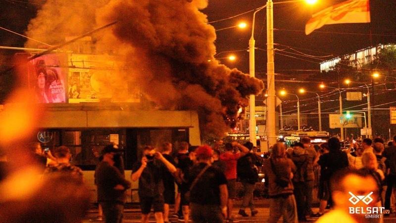 Беларусь Протесты Выборы Задержания Столкновения Баррикады Столкновения с полицией ОМОН