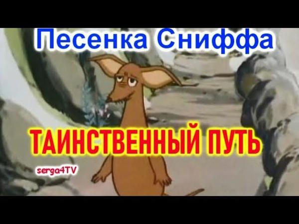 01 ТАИНСТВЕННЫЙ ПУТЬ Песенка Сниффа Мультик