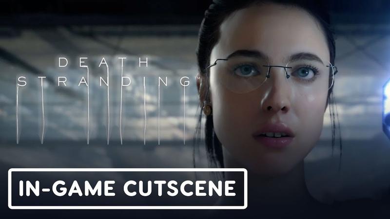 Death Stranding: Mama In-Game Cutscene - Gamescom 2019