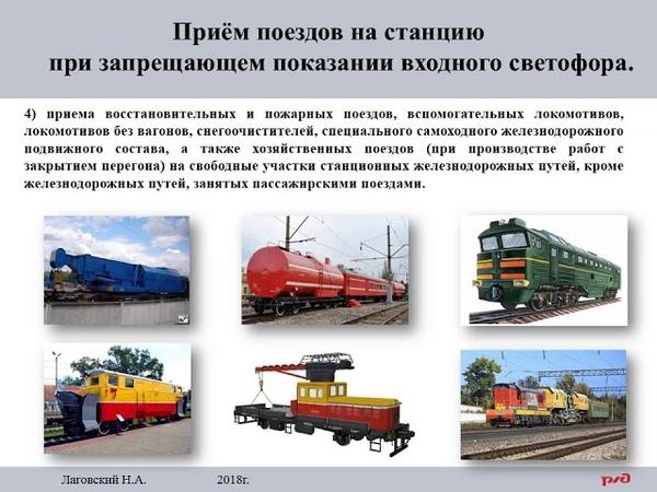 ИДП Приём поезда при запрещающем показании входного маршрутного светофора flv