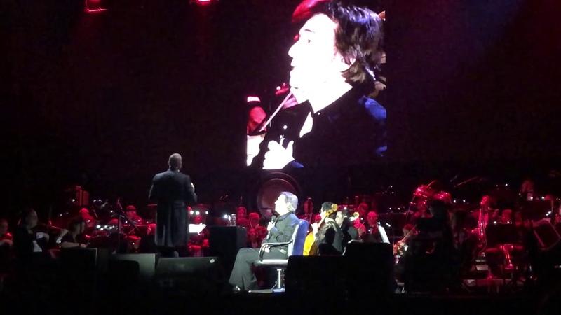 Raphael Los hombres lloran también Pabellón Príncipe Felipe (Zaragoza) 21/09/2019