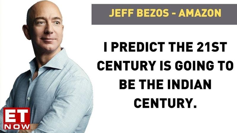 Amazon Founder CEO Jeff Bezos on investing in India his journey so far EXLCUSIVE