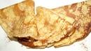 Crepes dulces Receta de masa PERFECTA Crepas dulces tradicionales