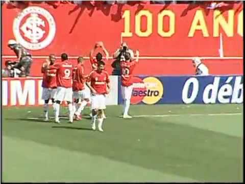 Gol D'alessandro Inter 1 x 0 Grêmio 25/10/09