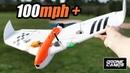 100mph Fpv Wing for $40 Kingkong Thunder 600X Full Review Flights