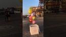 Коробка сюрприз с воздушными шарами для Любимой подруги/друга. Подарок для мужчины/женщины.