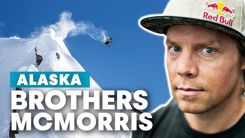 Snowboarding Alaska Lines with Travis Rice Mark McMorris Craig McMorris Brothers McMorris