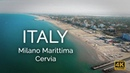 Cervia, Milano Marittima - Italy - Amazing 4k video