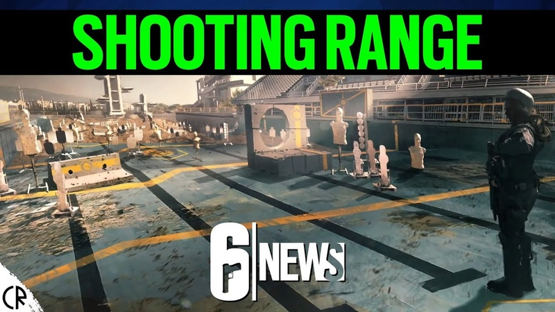 Shooting Range Obstacle Course Official Concepts 6News Tom Clancy's Rainbow Six Siege