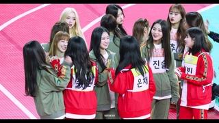 191216 아육대 이달의 친목 소녀 LOONA Hyunjin fancam