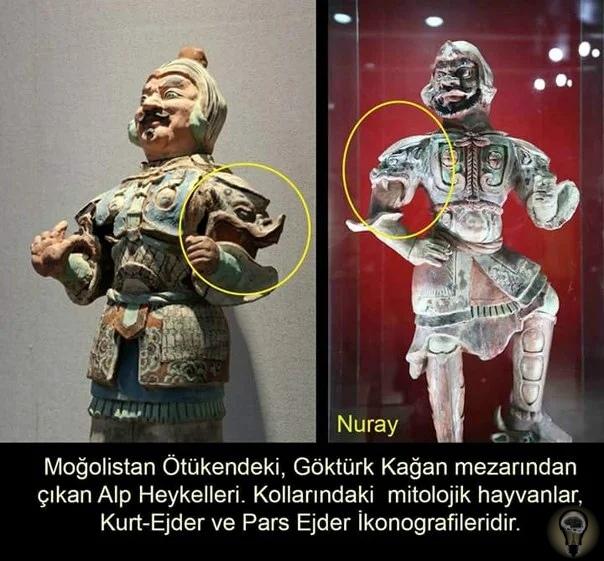 Необъяснимые маски на плечах у правителей Старого и Нового света