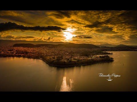 Η παραμυθένια πόλη των Ιωαννίνων από ψηλά | Tilemachos Pappas -Video drone