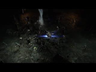Diablo 4 первые геймплейные кадры