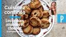 Cuisinez confinés : la recette du cookie amandes et chocolat de Géraldine Martens