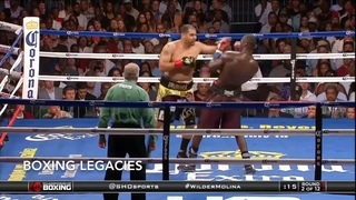 ERIC MOLINA VS DEONTAY WILDER(highlights)