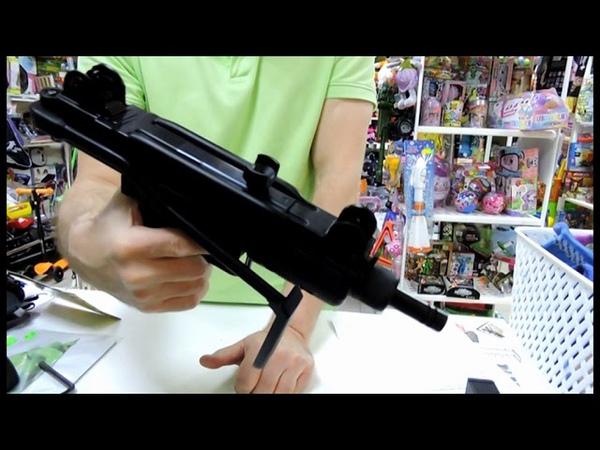 Узи газобалонный SUBMACHINE GUN Спортивное оружие Сувениры