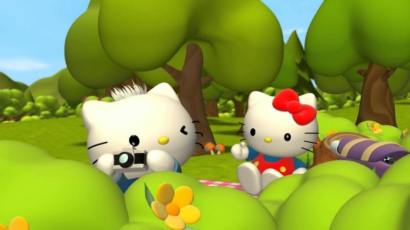 Приключения Хелло Китти и ее друзей Hello Kitty Friends идеальная картина Мультики для детей