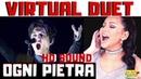 DIMASH Ogni Pietra Arnau - Olimpico Virtual Duet with LUCIA SINATRA Vocal Coach