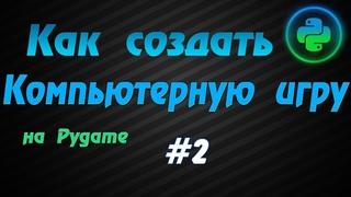 Программирование игр Pygame #2: Образ персонажа, анимация прыжка, координаты дисплея