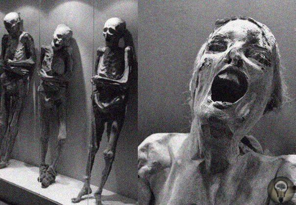 Самыми странными и пугающими мумиями считаются мумии Гуанахуато