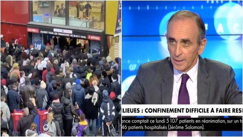 Eric Zemmour La Seine Saint Denis est en sécession Face à l'info 31 03 2020