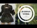 2B | Nier Automata Cosplay Tutorial 1/3 | Cómo hacer el patrón