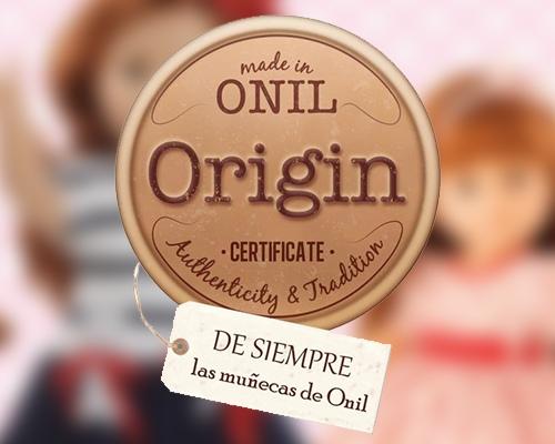 Сертификат происхождения: сделано в Ониле. Фото ©MUÑECAS PAOLA S. L