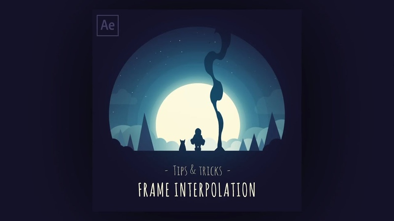Frame interpolation The fast method of inbetweening hand drawn animation After Effects