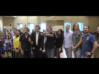Репортаж с первой репетиции группы Кипелов с Симфоническим оркестром