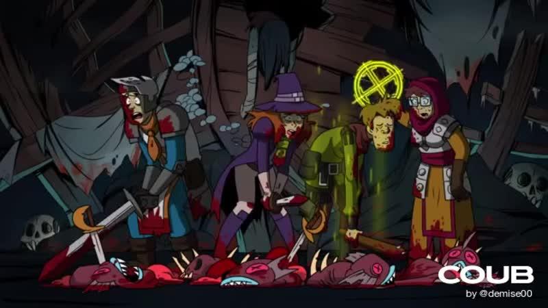 Scooby Doo Darkest Dungeon