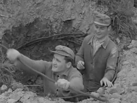 Tongewinnung im Glockenschacht Stummfilm 1962
