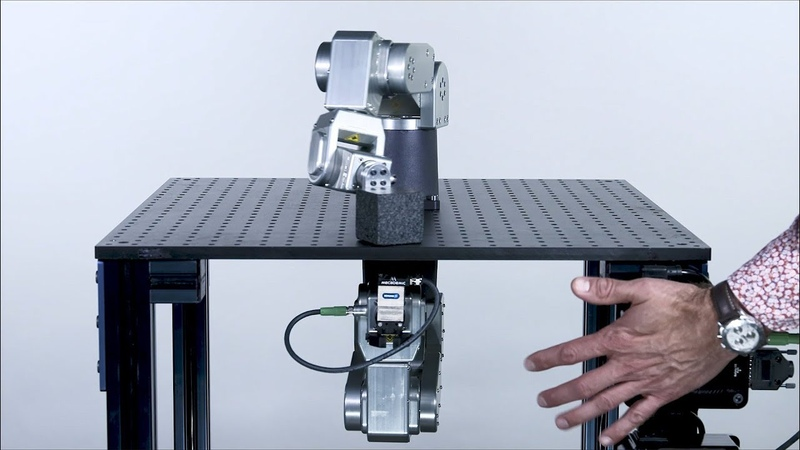 The world's smallest six-axis industrial robot arm