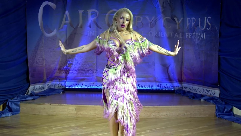 Amira Oubati Belly Dancer - 7th CAIRO BY CYPRUS Festival 2019