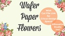 Wafer Paper Poinsetta Tutorial w PNG File Cake and Crafts by Kass