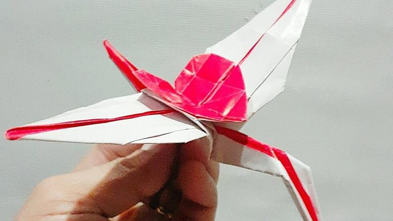 Crane Heart Origami TUTORIAL Designed by Owel Armia Philippines